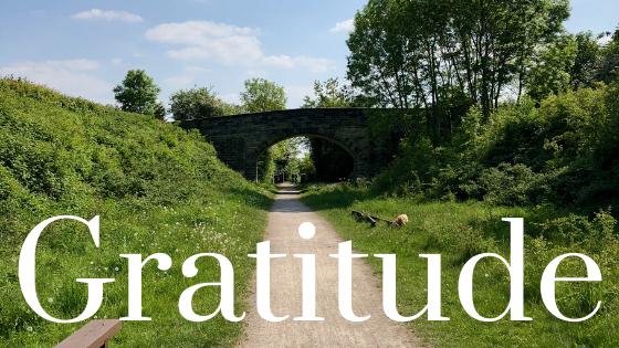 Country lane gratitude